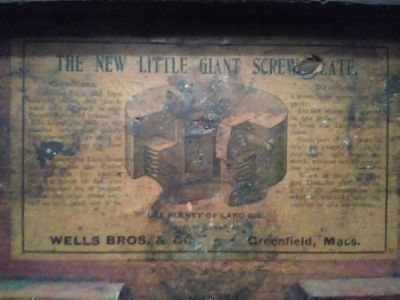 1800's Little Giant tap and die set