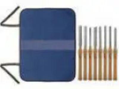SAVANNAH HSS WOOD LATHE CHISEL SET -PIECE SET with Storage Tool