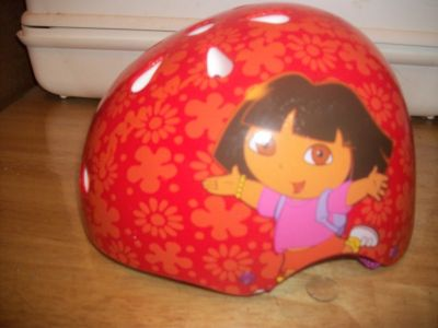 7000 DORA EXPLORER KIDS BICYCLE HELMET