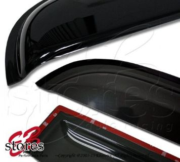 Purchase Vent Outside Mount Window Visor Sunroof Type2 3pc For Nissan Frontier 98-04 Crew motorcycle in La Puente, California, United States