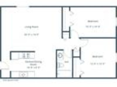 Parkview Arms - 2 BR - Plan B