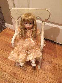 BABY DOLL WOODEN CHAIR