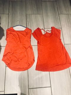 JOE FRESH ACTIVE TOPS 2 for $10 size M never worn!