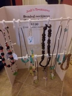 Beaded necklaces- handmade