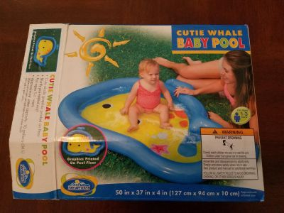 Baby whale pool