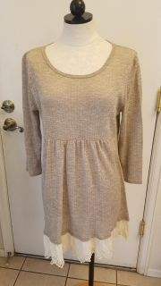 Taupe Baby Doll sweater