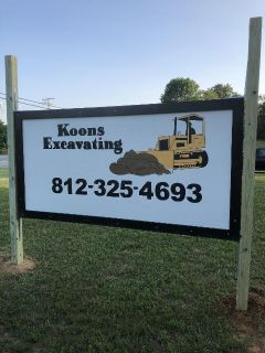Koons Excavating for ALL your dirt work needs!!