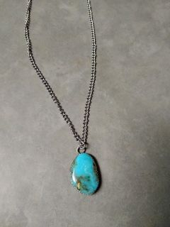 GORGEOUS TURQUOISE STONE NECKLACE