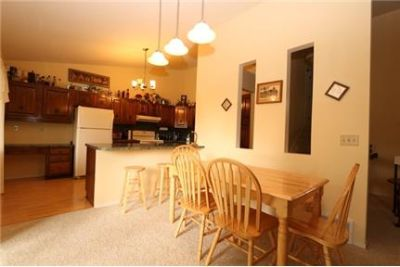 Nice town home with three bedrooms and a loft/den.