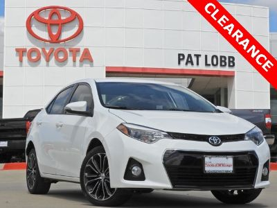 2016 Toyota Corolla L (White)