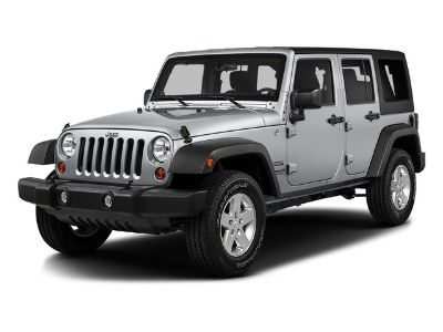 2016 Jeep Wrangler Unlimited Sport (Bright White Clearcoat)