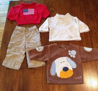 Boys 3-6 month Fall/Winter Clothing