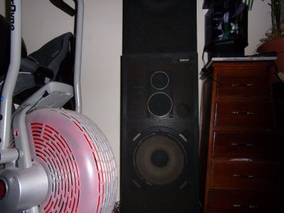 Pioneer XL Floor Standing WOOD BOX SPEAKER SYSTEM Home Surround Sound