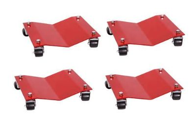 Purchase SET OF 4 AUTO DOLLIES 1500 LB. CAPACITY EACH motorcycle in Lawrenceville, Georgia, US, for US $129.95