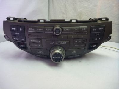 Sell 08-12 Honda Accord Gps XM Navigation Radio Control & Code 39101-TA0-A920 3TA1 RC motorcycle in Williamson, Georgia, United States, for US $260.00