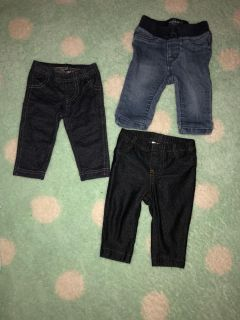 3 months legging and jeans