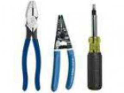 New Klein Tools -Piece Electrician s Tool Kit