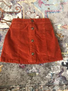 5t suede Old Navy skirt