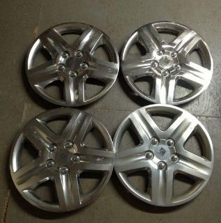 "Sell 17"" Chevy Aftermarket Chevrolet Saturn Hubcaps Set 4 Chrome 73021-17 Hub Caps motorcycle in Holt, Michigan, US, for US $25.00"