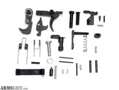 For Sale: Guntec AR15 Lower parts kit leftover from builds