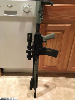 For Sale: AR-15 Free float upper for sale with scope.