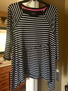 Calvin Klein Knit Top. Size 1X. New With Tag!