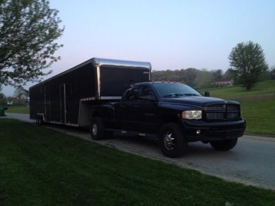 48' Pace Wide Mouth Trailer w/ Living Quarters