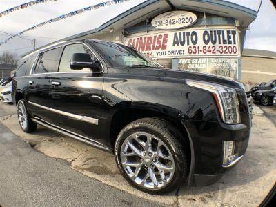2016 Cadillac Escalade ESV 4WD 4dr Platinum (Black Raven)