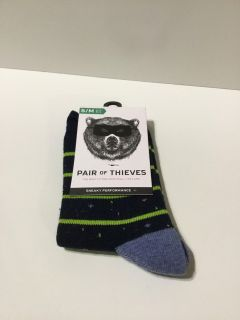 Pair Of Thieves Boys S/M socks -New p8 3 pairs available