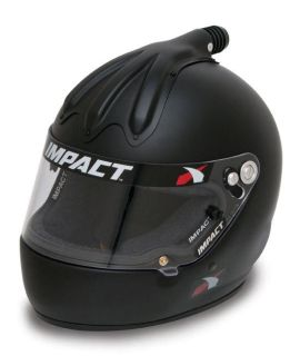 Sell IMPACT RACING 17699612 SS AIR HELMET X-LARGE FLAT BLACK SA2010 motorcycle in Moline, Illinois, US, for US $454.99