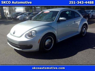 2012 Volkswagen Beetle 2.5 (SILVER)