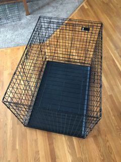 XL Collapsable and Double Door Dog Kennel