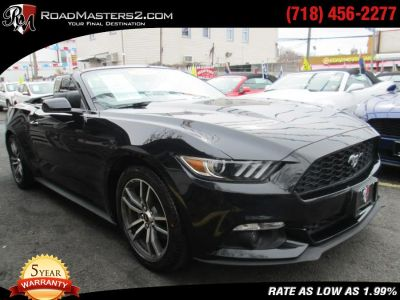 2016 Ford Mustang 2dr Conv EcoBoost Premium Navi (Shadow Black)