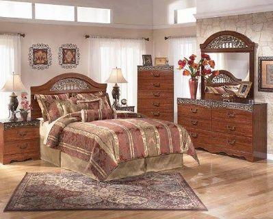 $1,000, Fairbrooks Estate Luxury Bedroom Set