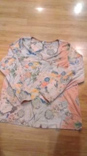 Ladies top, One World, size 1X, cute with jeans