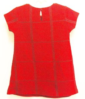 NWT Girls 24M/2T Red Sparkly Holiday Dress