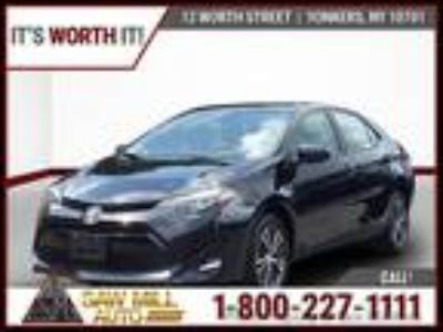 $16900.00 2018 Toyota Corolla with 34 miles!