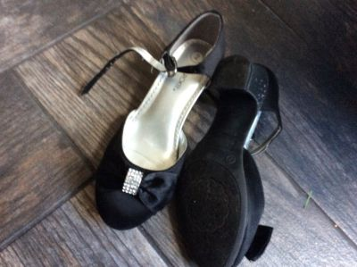 Black dress shoes. Size 2