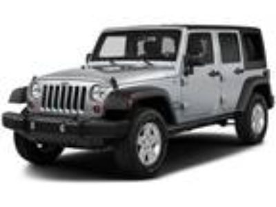 Used 2017 Jeep Wrangler Unlimited Bright White Clearcoat, 47.4K miles