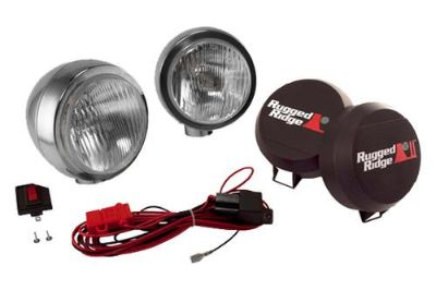 Find Rugged Ridge 15206.51 - Off Road Stainless Steel HID Fog Light Kit 1 Pc motorcycle in Suwanee, Georgia, US, for US $323.17