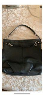 Authentic leather Coach purse