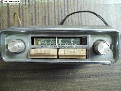 Blaupunkt Wolfsburg tube radio - parts or restore