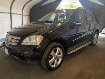 2007 Mercedes-Benz M-Class ML350 (Black)