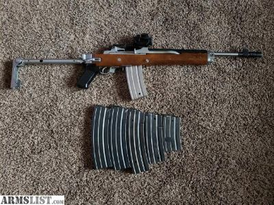 For Sale/Trade: Pre-ban 181 series mini-14 stainless folder