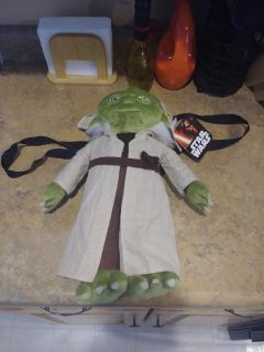 STAR WARS YODA BACKPACK BRAND NEW WITH TAGS