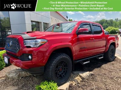 2019 Toyota Tacoma 4WD (Barcelona Red Metallic)