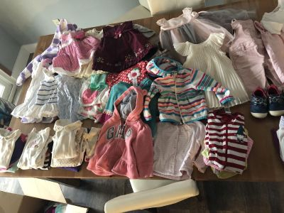 Girl clothes 12 month