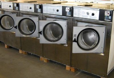 Wascomat Front Load Washer W125 3PH Stainless Steel