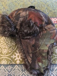 Fur lined hunting hat NWT! $10