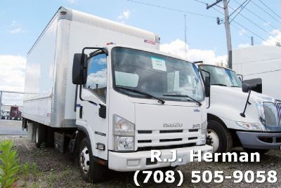2012 Isuzu NPR HD 16 ft Under CDL Straight Truck